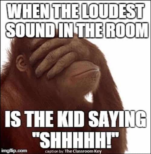 funny school loudest sound memes