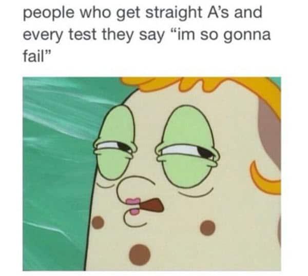 funny school straight a memes