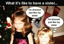 funny sister meme
