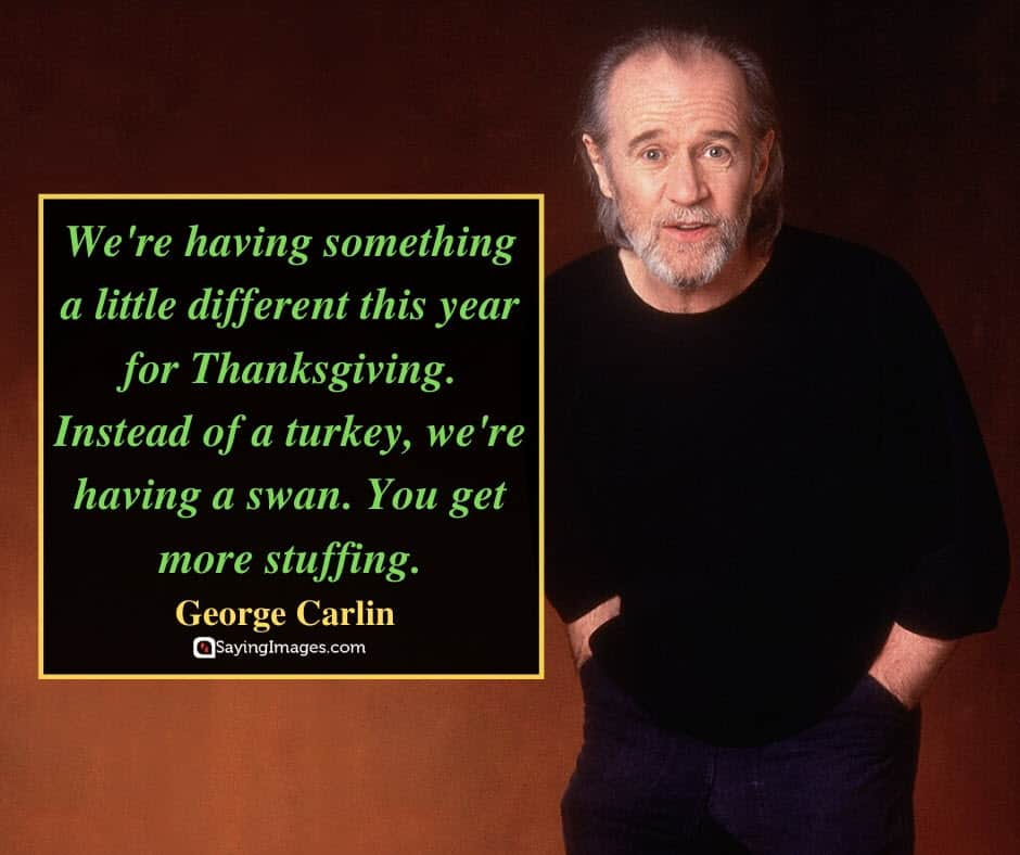 funny thanksgiving swan quotes