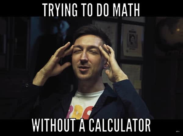 funny trying to do math memes