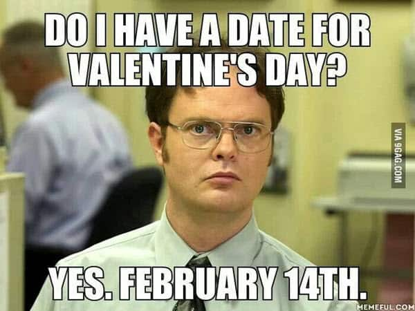 funny valentines day date meme