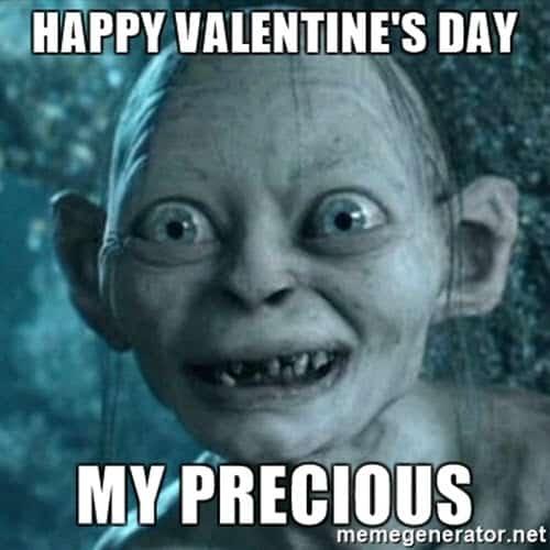 funny valentines day precious meme