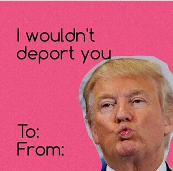 funny valentines deport meme