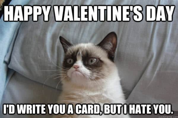 funny valentines write you a card meme
