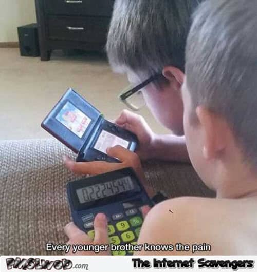 funny younger brother memes