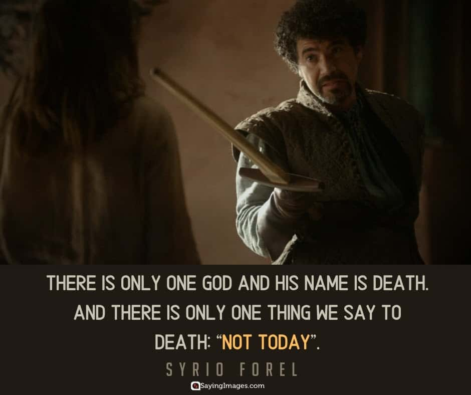 game of thrones death quotes