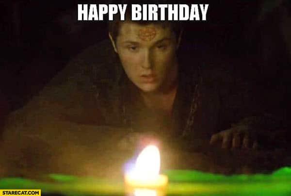 game of thrones happy birthday meme