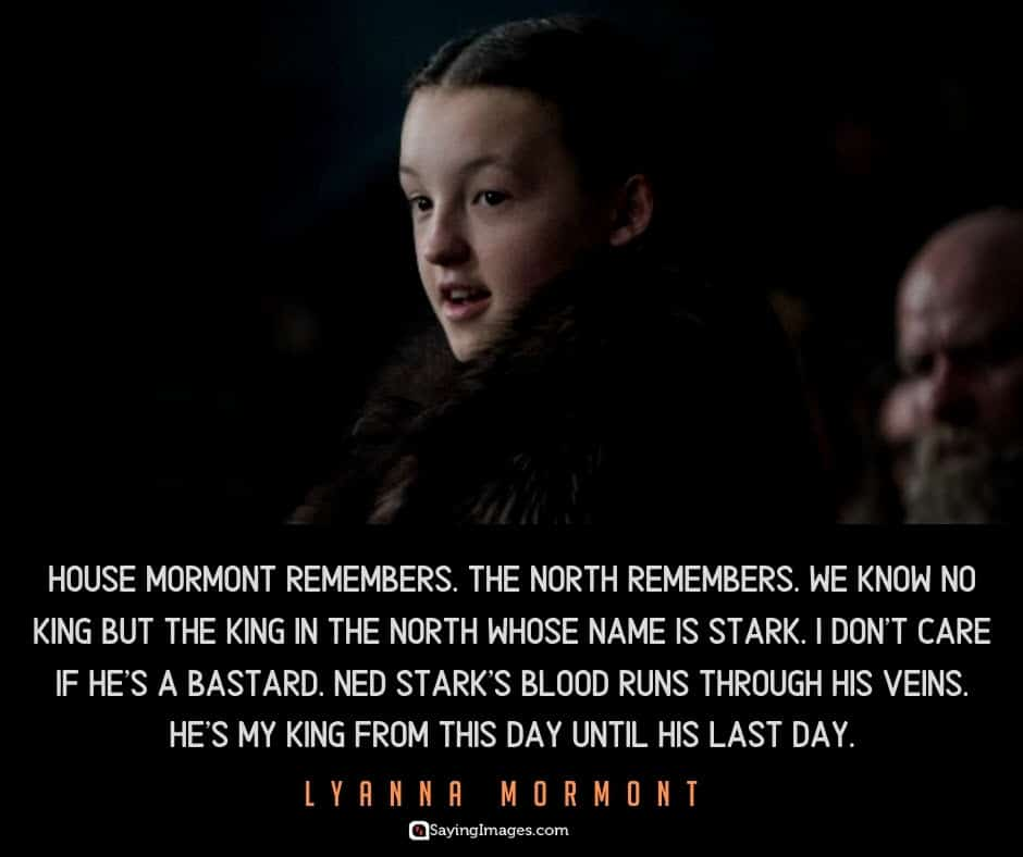 game of thrones king quotes