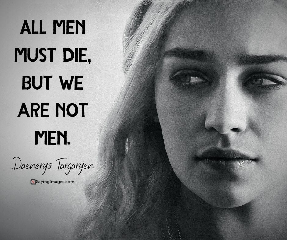 game of thrones men quotes