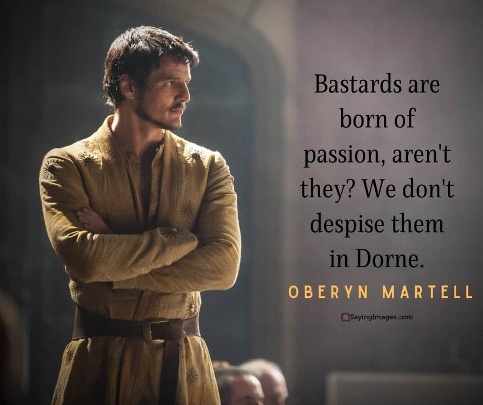 game of thrones passion quotes