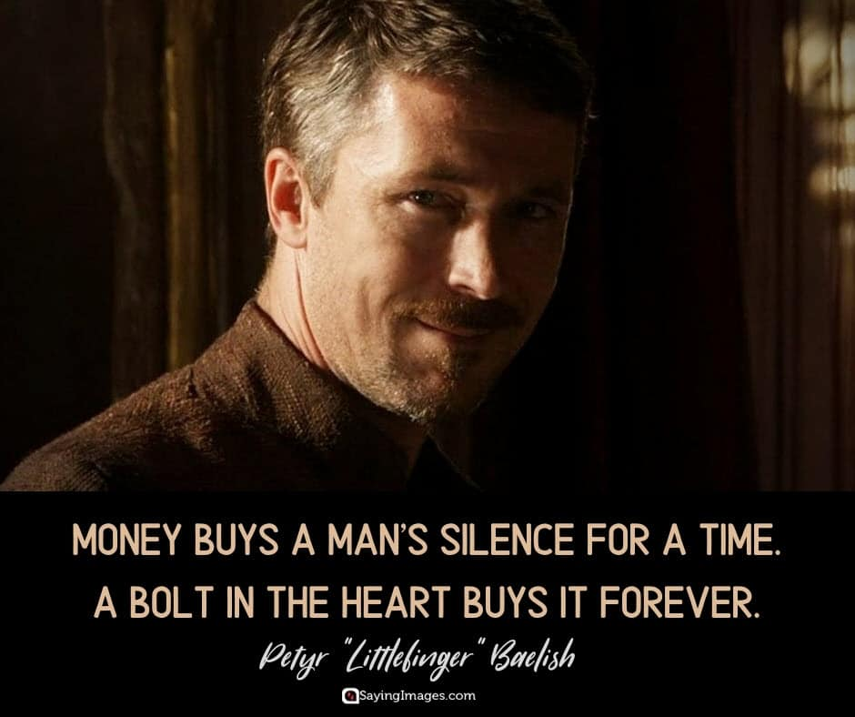 game of thrones silence quotes