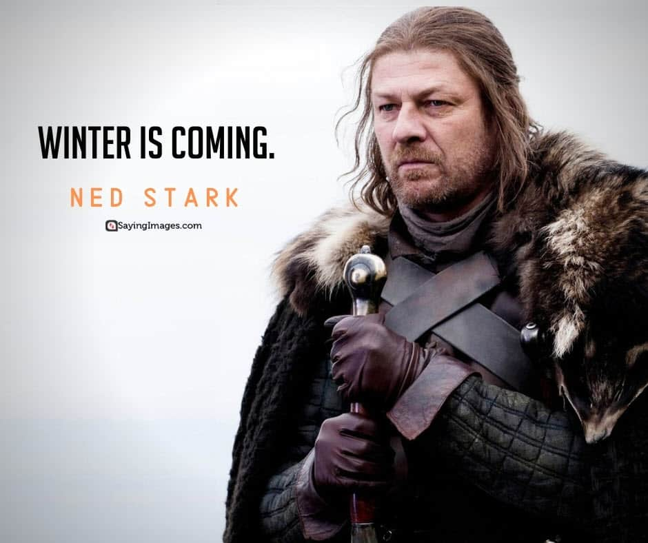 game of thrones winter quotes
