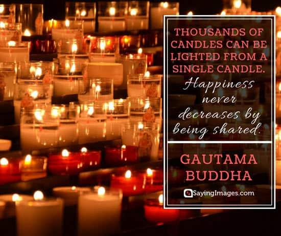 gautama buddha candle quotes