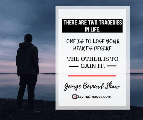 george bernard shaw tragedy quotes
