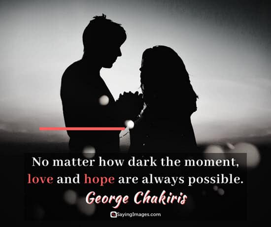 george chakiris dark quotes