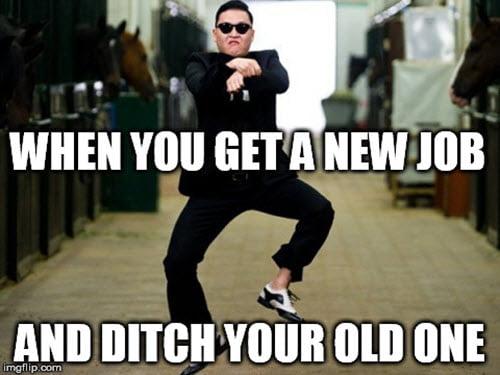get a new job meme