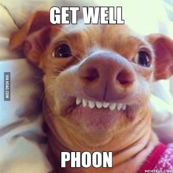 Get Better Quotes Funny: 20 Funny Get Well Soon Memes To Cheer Up Your Dear One