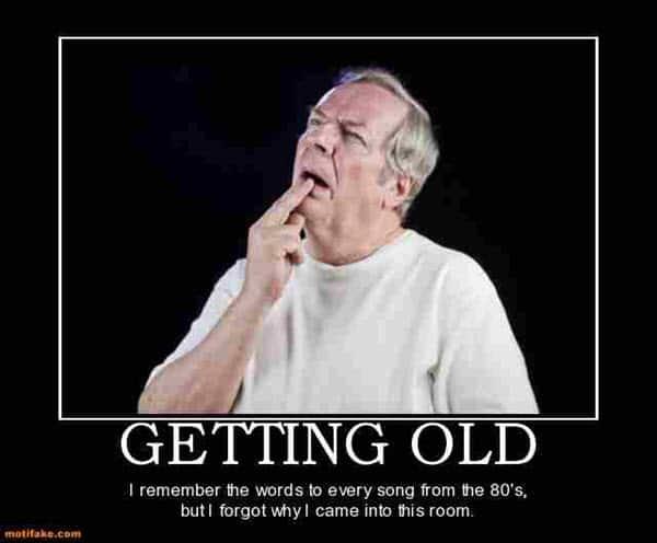 getting old remember meme