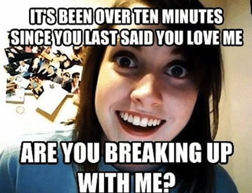 girlfriend breaking up meme