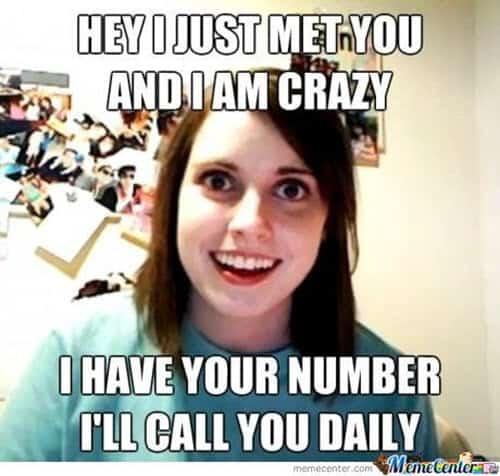 girlfriend i just met you meme