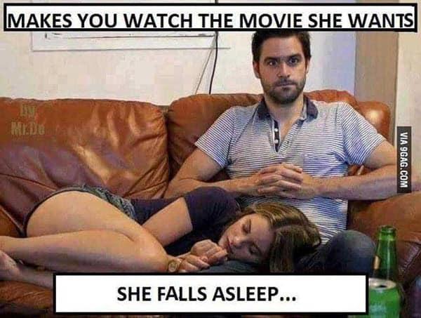 girlfriend watch the movie meme