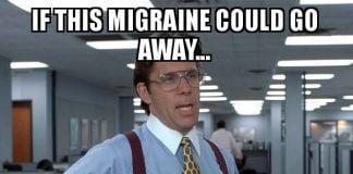 migraine meme