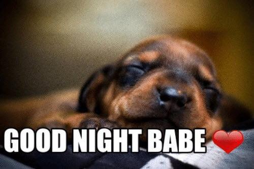 goodnight babe meme