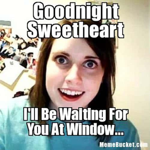 goodnight sweetheart meme