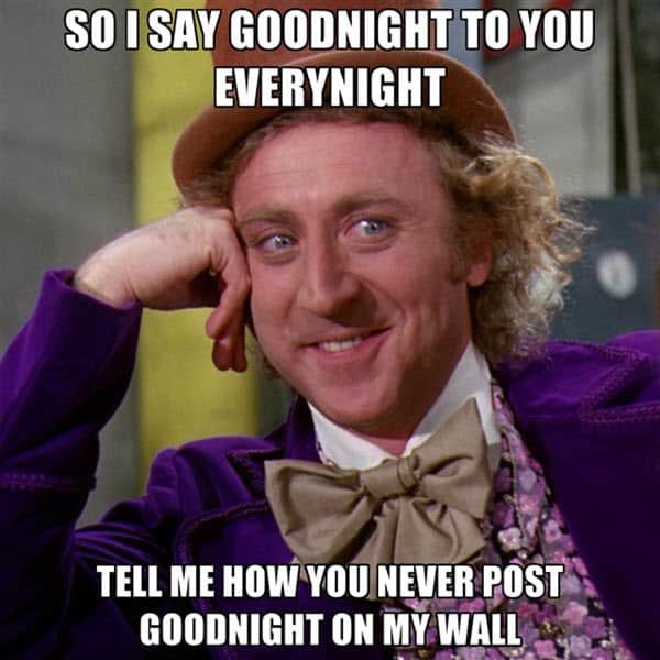 goodnight to you everynight meme