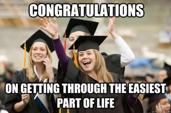graduation congratulations meme