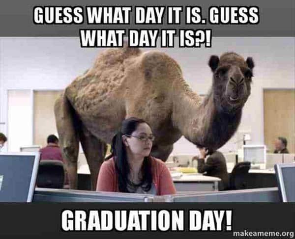 graduation what day it is meme