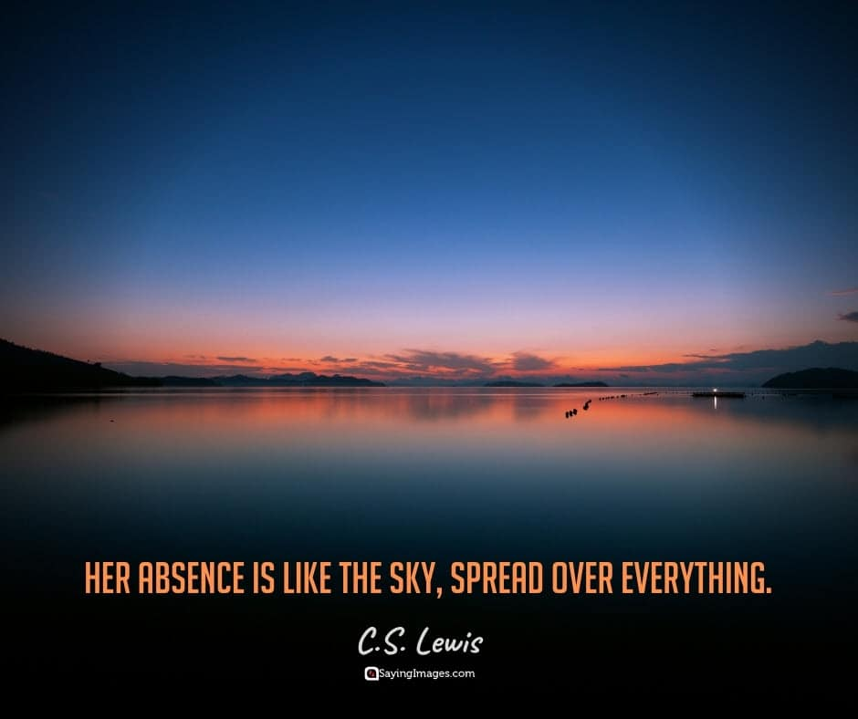 grief absence quotes