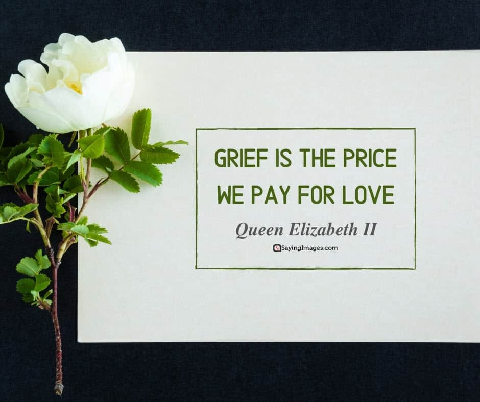 grief love quotes