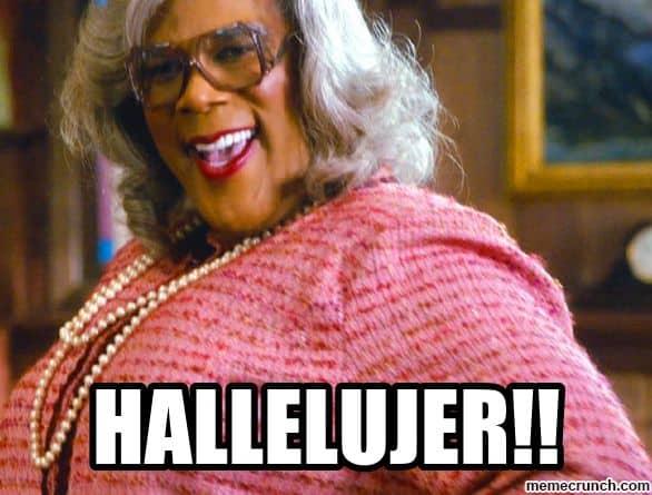 20 Madea Memes That Are Just Plain Funny | SayingImages.com Hallelujah