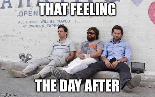 hangover feeling memes
