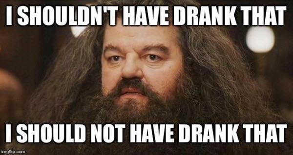 hangover i should not have drank memes