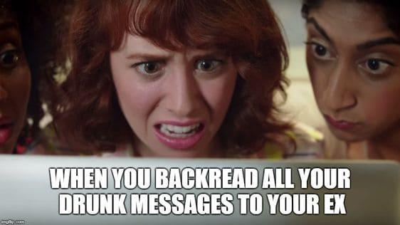 hangover messages memes