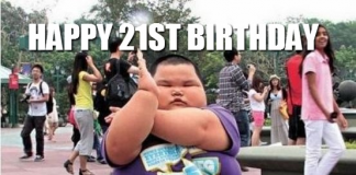 21st birthday meme