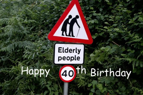 happy 40th birthday elderly people meme