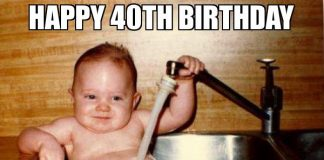 happy 40th birthday meme