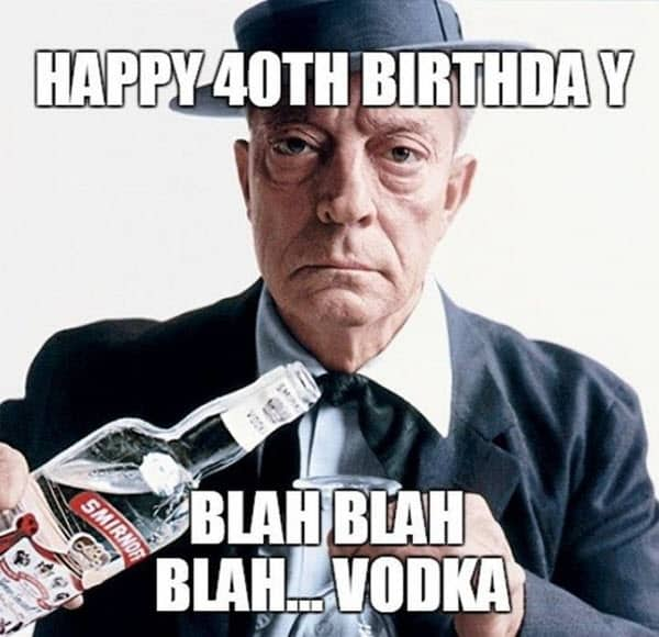 40 Funniest Birthday Memes For Anyone Turning 40 ...