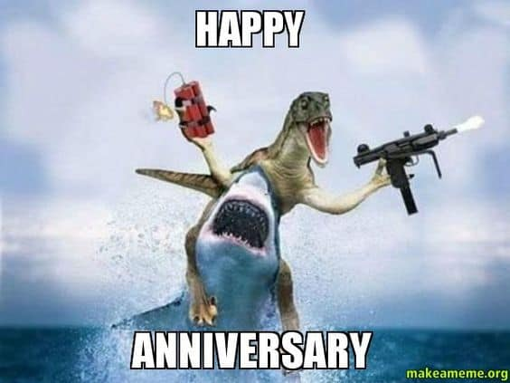 20 Memorable And Funny Anniversary Memes Sayingimagescom