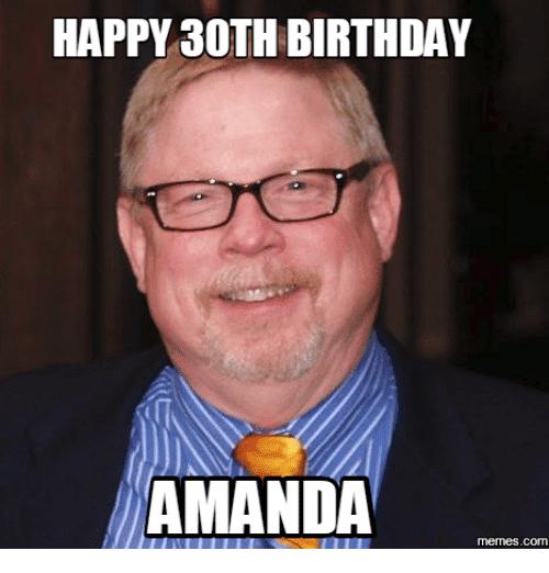 20 Awesome 30th Birthday Memes Sayingimagescom
