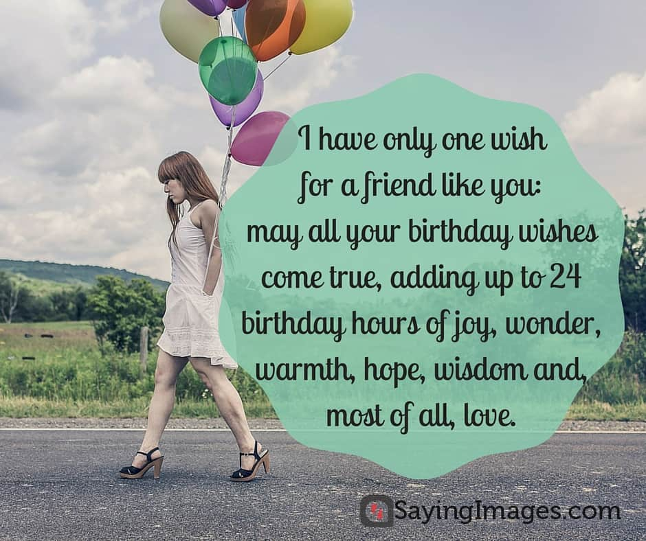 20 Birthday Wishes For A Friend (pin And Share