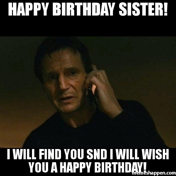20 Hilarious Birthday Memes For Your Sister