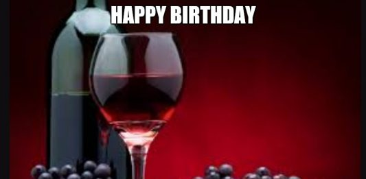 happy birthday wine meme