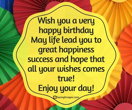 Quotes Happy Birthday Pleasing Happy Birthday Quotes Messages Pictures Sms & Images