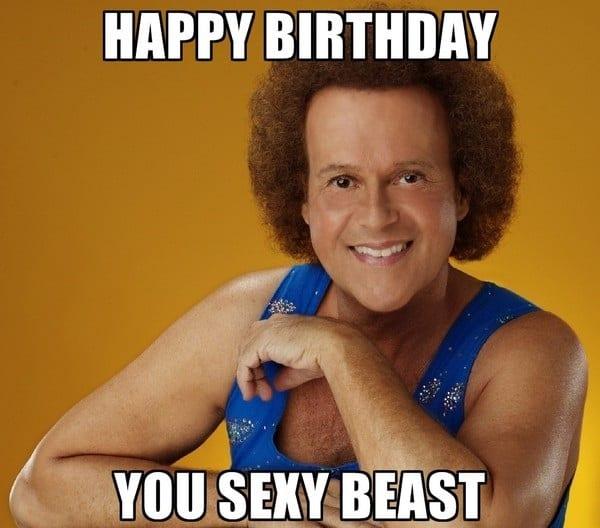 Happy Birthday You Sexy Beast