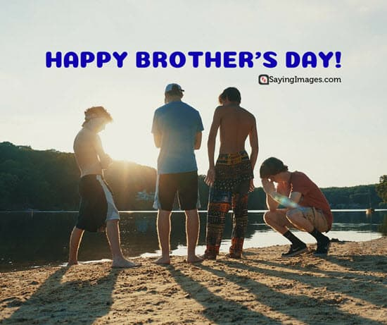 happy brothers day short greetings